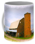 Brick Barn And Silo Coffee Mug