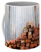 Brick Piled Coffee Mug by Stephen Mitchell