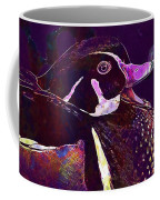 Bride Duck Male Duck Bird  Coffee Mug