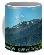 Bridge Alaska Rail  Coffee Mug