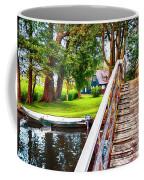 Bridge And River In Old Dutch Village Coffee Mug
