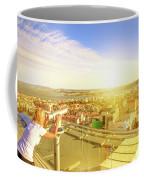 Bridge April 25 And Cristo Rei Coffee Mug