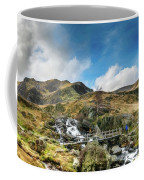 Bridge At Snowdonia Coffee Mug