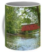 Bridge At The Green Coffee Mug