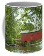 Bridge At The Green - Widescreen Coffee Mug