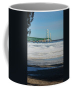 Bridge At Winter Coffee Mug