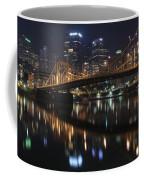 Bridge In The Heart Of Pittsburgh Coffee Mug