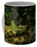 Bridge In The Woods Coffee Mug
