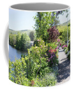 Bridge Of Flowers Walkway Coffee Mug