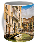 Bridge On The Canal Coffee Mug