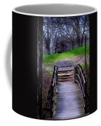 Bridge On The Trail Coffee Mug
