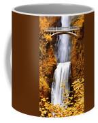 Bridge Over Cascading Waters Coffee Mug