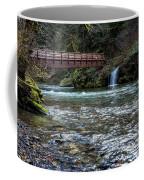 Bridge Over Hackleman Creek Coffee Mug