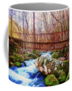 Bridge Over Mill Creek Coffee Mug