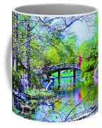Bridge Over Peaceful Waters Coffee Mug