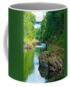 Bridge Over Quechee Gorge-vermont  Coffee Mug