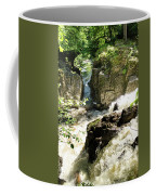 Bridge Over The River Braan, And The Black Falls In The Hermitage, At Dunkeld Coffee Mug