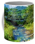 Bridge Over Tropical Dreams Coffee Mug