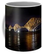 Bridge Over Water Lights. Coffee Mug