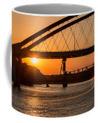Bridge Sunrise And Boater Coffee Mug