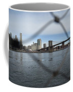 Bridge Through The Fence Coffee Mug