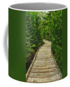 Bridge To Chimney Pond Coffee Mug