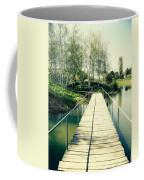 Bridge To Evening Island Coffee Mug
