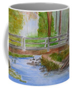 Bridge To Serenity   Smithgall Woods State Park Coffee Mug