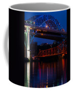 Bridges Red White And Blue Coffee Mug