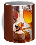 Brie Cheese With Figs And Honey Coffee Mug