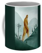 Brief Encounter With The Tall Man Coffee Mug