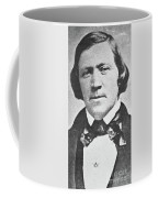 Brigham Young  Second President Of The Mormon Church, Aged 43, 1844 Coffee Mug