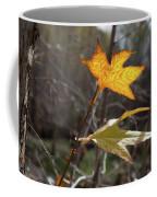 Bright And Sunlit Leaf, Arizona Coffee Mug