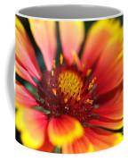 Bright Blanket Flower Coffee Mug