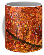 Bright Colorful Autumn Tree Leaves Art Prints Baslee Troutman Coffee Mug