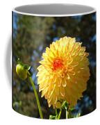 Bright Colorful Dahlia Flower Art Prints Baslee Troutman Coffee Mug