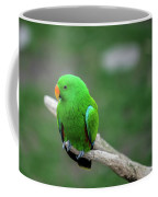 Bright Green Parrot Coffee Mug