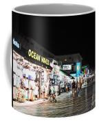 Bright Lights On The Boards Coffee Mug