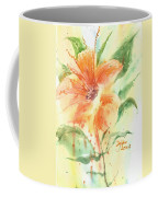 Bright Orange Flower Coffee Mug
