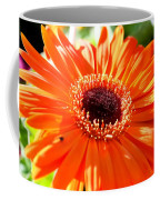 Bright Orange Gerbera  Coffee Mug