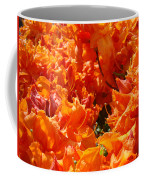 Bright Orange Rhodies Art Prints Canvas Rhododendons Baslee Troutman Coffee Mug