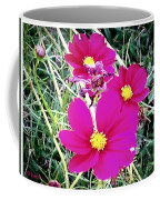 Bright Pink Flowers Coffee Mug