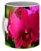 Bright Scarlet Red Orchid Coffee Mug