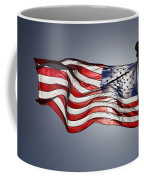 Bright Sun Highlights Old Glory Coffee Mug