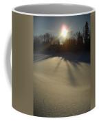 Bright Sun On Fresh Snow Coffee Mug