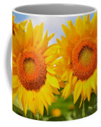 Bright Sunflowers Coffee Mug
