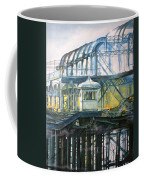Brighton's West Pier-lone Survivor Coffee Mug