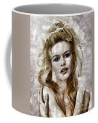 Brigitte Bardot, Vintage Actress Coffee Mug