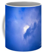 Brilliant Blue Cloud Formation With Sun Glow Coffee Mug