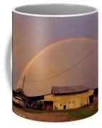 Brilliant Evening Double Rainbow Coffee Mug
